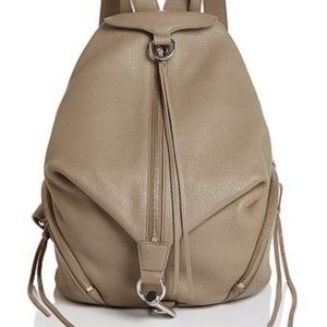 Rebecca Minkoff Julian Tan Leather Backpack